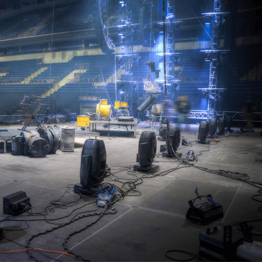 Build Stage Crowd Management